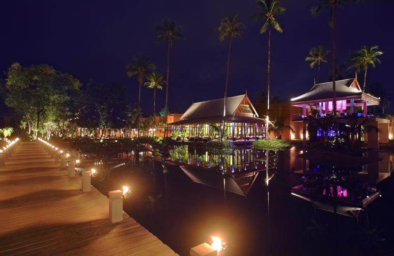 Anantara Phuket Nighttime Ambience