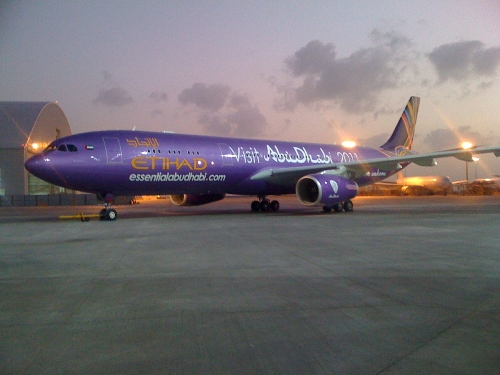 Essential Abu Dhabi Plane