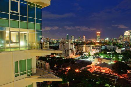 Anantara Baan Rajprasong stunning Bangkok by night