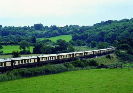 British Pullman - Exterior Countryside