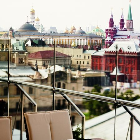 Park Hyatt Moscow - Terrace dining