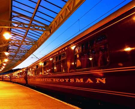 The Royal Scotsman - Exterior Platform