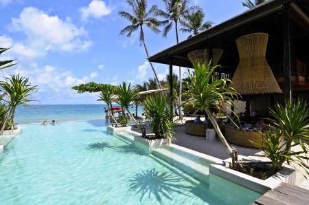 Anantara Phangan Rasananda main ocean front infinity pool 10.11