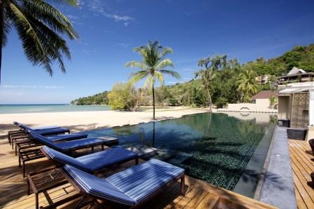 Anantara Phuket Layan pool and beach view